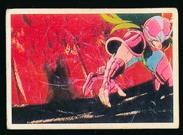 """Vignette """"Les Chevaliers Du Zodiaque"""", N° 116 (1986), Album SFC, Collection """"Tes Super Héros"""" - Stickers"""