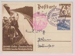 Zeppelin (Hindenburg) 9. Nordamerikafahrt 1936 - Zeppelins