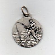 Italia - 1970 - Medaglia Gara Di Pesca F.I.P.S. S. Colomba (Trento) - Argento - 14° Classificato - Vedi Foto - (MW2478) - Italia