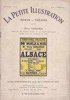 EO 1913 GASTON LEROUX ALSACE. ILLUSTRÉ. RÉJANE. Michelin, PLM. - Livres, BD, Revues