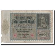 Billet, Allemagne, 10,000 Mark, 1922, 1922-01-19, KM:71, B - [ 3] 1918-1933: Weimarrepubliek