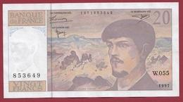"20 Francs ""Debussy"" 1997 --XF/SUP+---ALPH W.055 - 1962-1997 ''Francs''"