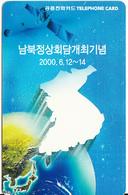 SOUTH KOREA - Map, Korea Telecom Telecard(W 5000), Used - Korea (Zuid)
