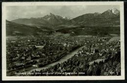 Ref 1308 - Real Postcard - Innsbruck Austria - 24g Rate To Sussex - Good Landeck Postmark - Innsbruck
