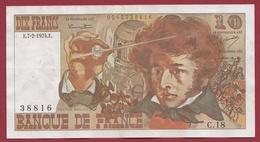 """10 Francs """"Berlioz"""" Du 07/02/1974.E --VF/SUP---ALPH C.18 - 1962-1997 ''Francs''"""