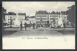 +++ CPA - TOURNAI - Le Bassin Du Parc   // - Tournai