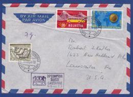 Brief Compotir Suisse Lausanne 1954 (br7408) - Covers & Documents