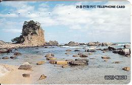 SOUTH KOREA - Beach, Korea Telecom Telecard(W 3000), Used - Korea (Zuid)