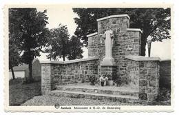 CPA PK  AUBLAIN  MONUMENT A  N.D. DE BEAURAING - Belgium