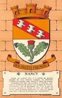 Nancy (54) - Non Inultus Premor - Héraldiques Des Villes De France Par Maurice Jacquez - Nancy
