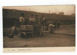 13.  -  Boom. - Briquetiers Au Travail 1910 - Boom