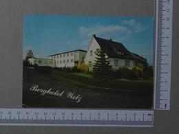 GERMANY   - BERGHOTEL WETZ -  BERGHOTEL WETZ -   2 SCANS    - (Nº29357) - Kreuztal