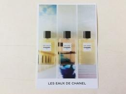 Carte Invitation Les Eaux De Chanel - Cartas Perfumadas