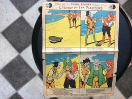 PUBLICITÉ CRÈME ÉCLIPSE  Fable De La Fontaine  L'HUITRE ET LES PLAIDEURS - Publicité