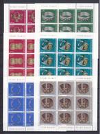 Jugoslawien - 1975 - Michel Nr. 1587/92 - Kleinbogensatz - Postfrisch - 1945-1992 Sozialistische Föderative Republik Jugoslawien
