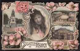 Nancy (54) - Souvenir De Nancy - Art Nouveau Portrait Jeune Fille - Nancy