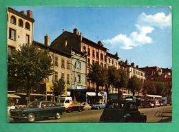 31 Haute Garonne Toulouse Place Esquirol Avec Vieilles Voitures - Toulouse