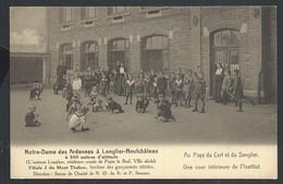 +++ CPA - LONGLIER - NEUFCHATEAU - Notre Dame Des Ardennes- Mont Thabor - Débiles - Cour Intérieure De L'Institut  // - Neufchâteau
