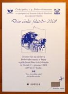 2008 Czech Republic Postal Museum Invitation PPM 3 - Repubblica Ceca