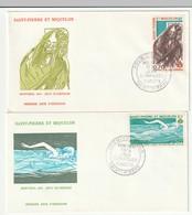 FDC - St Pierre Et Miquelon - 1976 - J.O Montréal 1976 - FDC