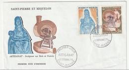 FDC - St Pierre Et Miquelon - 1975 - Artisanat - FDC