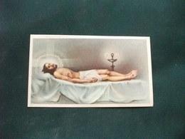 SANTINO HOLY PICTURE IMAGE SAINTE  ORAZIONE AMABILISSIMO GESU' 2/444 - Religione & Esoterismo