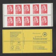 FRANCE / 2018 / Y&T N° AA 1599B ? ** Ou C???? ** : Marianne D'YZ (Carnet Automate Nouv Marianne) 10 TVP LP - Sans N° - Carnets