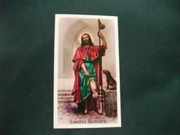 SANTINO HOLY PICTURE IMAGE SAINTE  SAN ROCCO SANCTUS ROCHUS 2/211 - Religione & Esoterismo