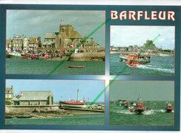 BARFLEUR LA STATION DE SAUVETAGE ET LE CANOT AMIRAL DE TOURVILLE - Barfleur