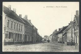 +++ CPA - Alveringem - STAVELE - Rue De Crombeke  // - Alveringem