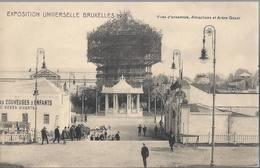 Exposition Universelle De Bruxelles 1910 - Vues D'ensemble Attractions Et Arbre Gèant - HP1699 - Mostre Universali