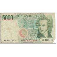 Billet, Italie, 5000 Lire, 1985, 1985-01-04, KM:111b, B - [ 2] 1946-… : République