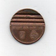 Italia - Vecchio Gettone Per Distributori Bevande -  Vedi Foto - (MW2484) - Italia