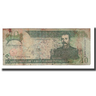 Billet, Dominican Republic, 10 Pesos Oro, 2003, KM:168c, B - Dominicaine