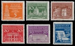 Ukraine Exile 1948 - National Council - Ukrainische Bauwerke - Ukraine