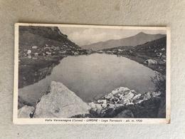 VALLE VERMENAGNA (CUNEO) LIMONE LAGO TERRASOLE  1940 TIMBRO CENSURA MILITARE - Cuneo