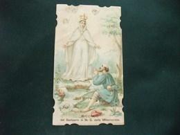 SANTINO HOLY PICTURE IMAGE SAINTE  RICORDO DEL SANTUARIO DI N. S. DELLA MISERICORDIA - Religione & Esoterismo