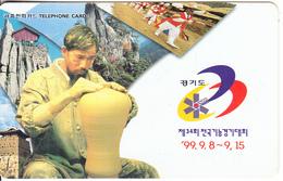"SOUTH KOREA - 34th National Skills Contest Kyung-Gi ""99(W3000), 08/99, Used - Korea (Zuid)"