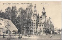 Exposition Universelle De Bruxelles 1910 - Pavillon Hollandais - HP1707 - Mostre Universali