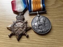 Medailles Anglaise 1914 - Grande-Bretagne