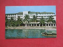 Philippines  Manila Hotel    Thailand Stamps  Has Stamp & Cancel    Ref 3425 - Philippines