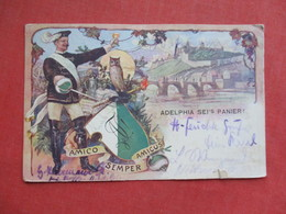 Amico Semper Amicus Germany Stamp & Cancel     Ref 3425 - Philippines