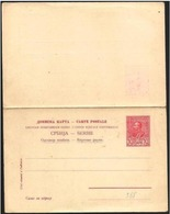 Serbia/Serbie: Intero Postale, Entiers Postaux, Postal Stationery - Serbia