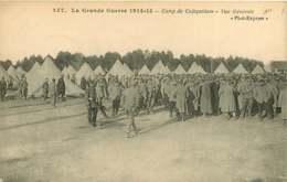 #200619D - 56 Grande Guerre 1914 15 Camp De COETQUIDAM Vue Générale - Militaria Tente - Otros Municipios