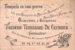 Bouquetes En Tous Genres Verhaeghe De Ceuninck Horticultuur  Bruges  BRUGGE - Brugge