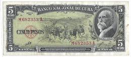 Zwei Banknoten Aus Kuba - Kuba