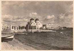 LIBIE BENGASI Cathédrale Et ALBERGO BERENICE(scan Recto Et Verso) - Libië