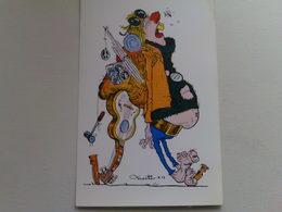 "Kardorama  Postcard -  "" Pre Natal Love ""  Design K 17 - Humour"