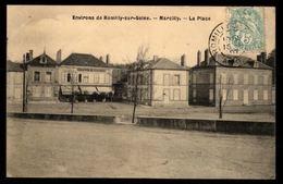 51 -  MARCILLY SUR SEINE (Marne) - La Place - Environs De Romilly Sur Seine - France