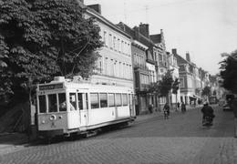 Foto 2  Tram In KORTRIJK 1961 - Kortrijk